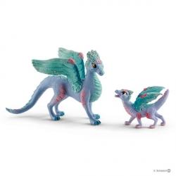 Bayala - Dragon aux fleurs et son petit