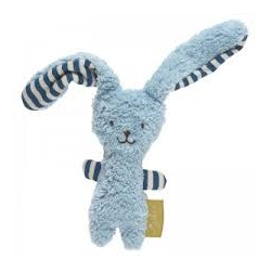 Jouet à saisir lapin bleu