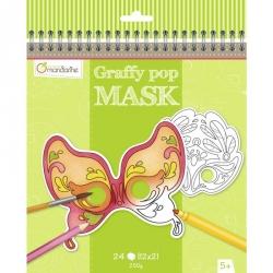 Graffy pop masques Venise