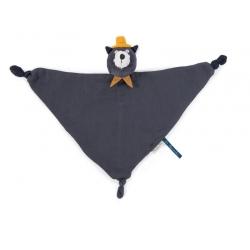 Les Moustaches - Doudou lange chat Alphonse