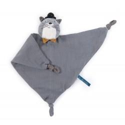 Les Moustaches - Doudou lange chat Fernand