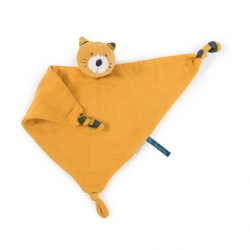 Les Moustaches - Doudou lange chat Lulu