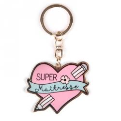 Porte-clés - Super maîtresse