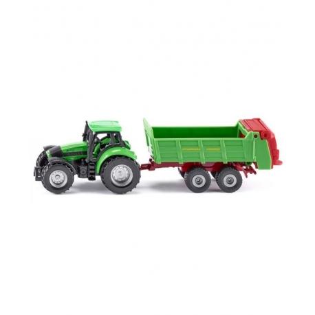 Siku O Tracteur avec épandeur universel
