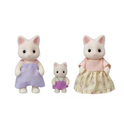 Sylvanian Families - Famille Chat floral