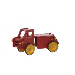 Porteur - Camion benne rouge
