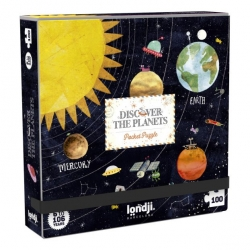 Puzzle pocket 100 pièces - Discover the Planets