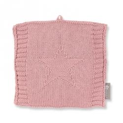 Bouillotte en tricot rose
