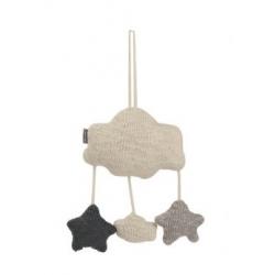 Nuage à suspendre en tricot