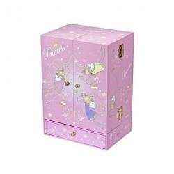 Boîte à musique armoire Princesse