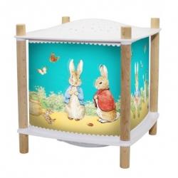 Lanterne magique musicale Peter Rabbit