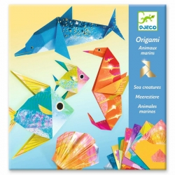 Origami - Animaux marins
