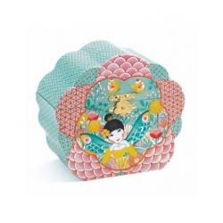 Boîte à bijoux musicale - Mélodie fleurie