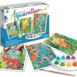 Aquarellum - Livre de la jungle