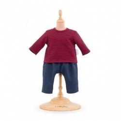 Vêtement Marinière et pantalon Bébé 30cm