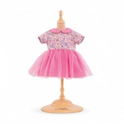 Vêtement robe rose Bébé 36cm