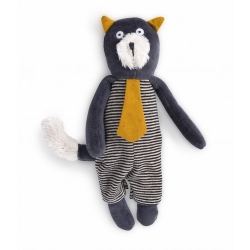 Les Moustaches - Mini peluche chat Alphonse