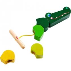 Jeu de laçage - Crocodile