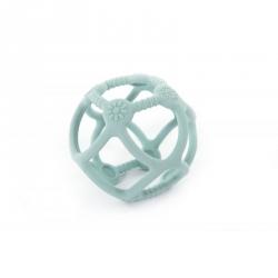 Balle en silicone bleue