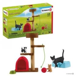 Farm World - Aire de jeu pour chats adorables