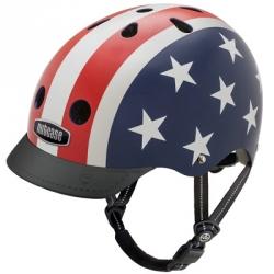 Casque de vélo - Nutcase - Star & stripes 48/52