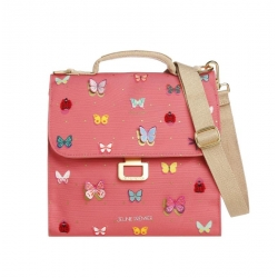 Lunch bag - Butterfly pink