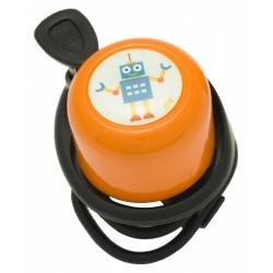 Sonnette - Robot orange