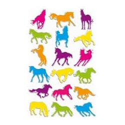 Cooky stickers - Chevaux