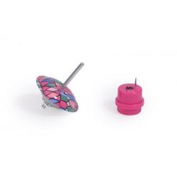 Les petites merveilles - Toupie sautillante rose