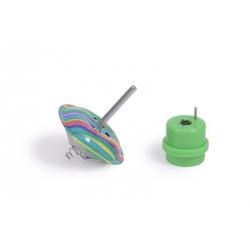 Les petites merveilles - Toupie sautillante multicolore