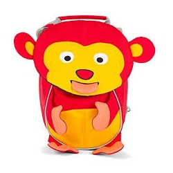 Petit sac à dos - Singe Marty rouge