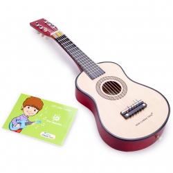 Guitare brune