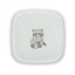 Assiette - About friends raton-laveur