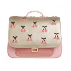 Cartable It Bag Mini - Cherry pompon
