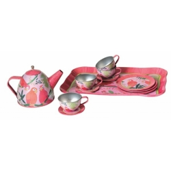 Service à thé perroquet