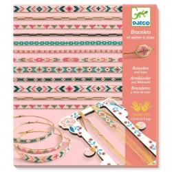 Bracelets et métier à tisser - Minuscules