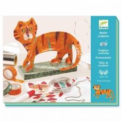 Atelier sculpture - Le tigre