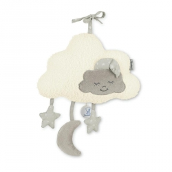 Peluche musicale nuage grise