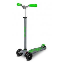 Trottinette Micro Maxi Deluxe Pro gris/vert