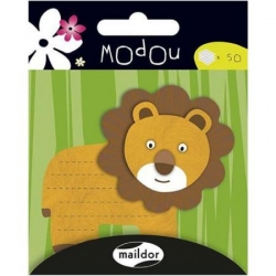 Post it Modou - Lion
