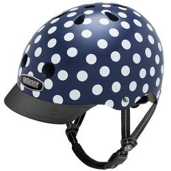 Casque de vélo - Nutcase Navy Dots MIPS S 52/56