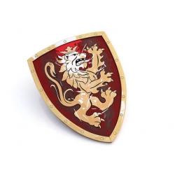 Bouclier de chevalier rouge