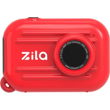 ZILA - Appareil photo rouge