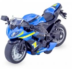 Moto sportive miniature