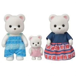 Sylvanian Families - Famille ours polaire