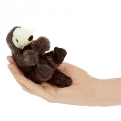 Marionnette à doigt loutre