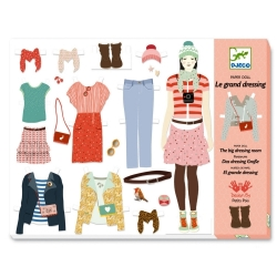 Paper doll - Le grand dressing
