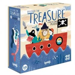 Puzzle 4-8-12-16 pièces - Discover the treasure