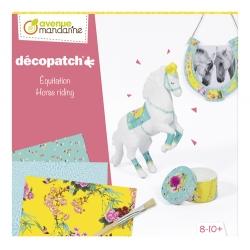 Décopatch - Coffret créatif équitation