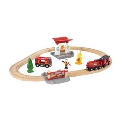 Circuit de pompier lutte contre le feu
